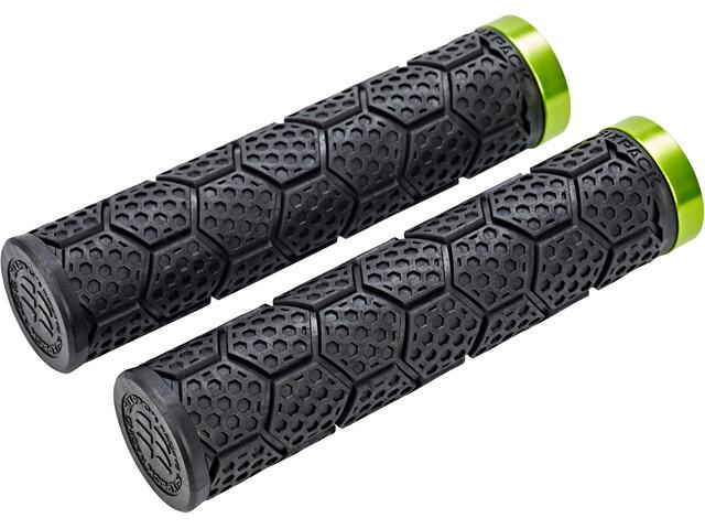 Sixpack D-Trix Cykelhåndtag, black/electric green